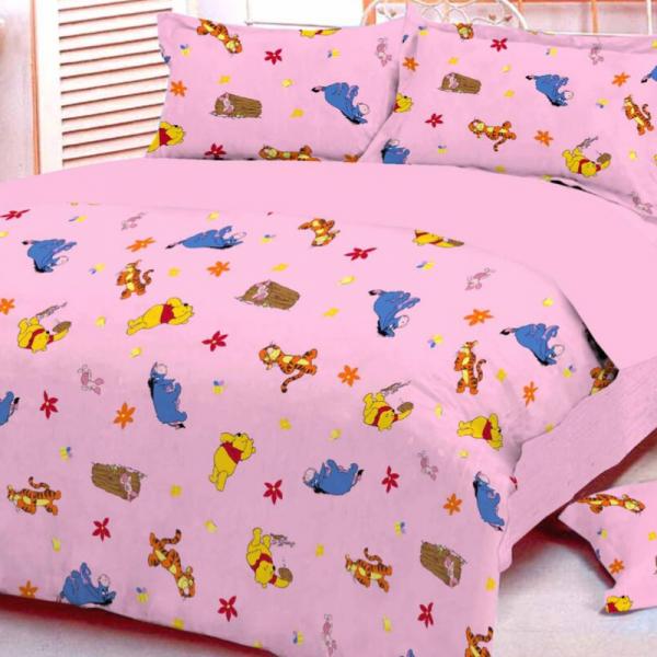 Laste voodipesukomplekt roosa PUHH