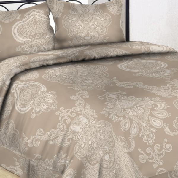 UUS! Satiinist voodipesukomplekt naturaalne