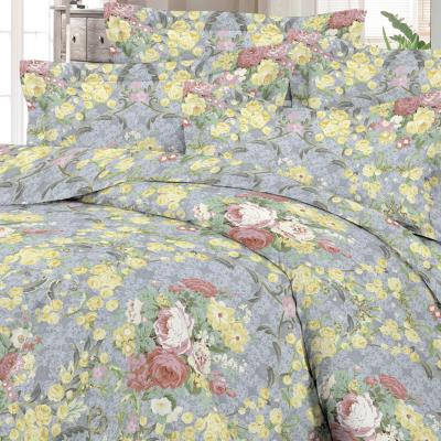 Satiinist padjapüür retro roosid