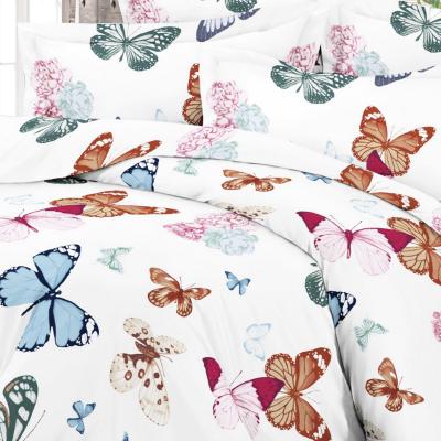 Satiinist padjapüür liblikatega